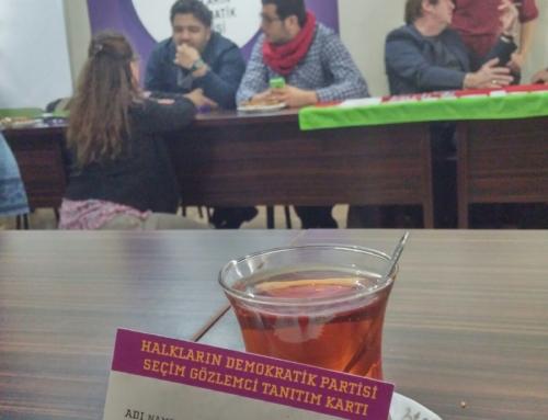 Valoracións da delegación galega de observación internacional ás eleccións na Turquía do 1N