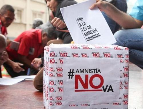 Coa Revolución, contra a Lei de Impunidade e a inxerencia estranxeira en Venezuela