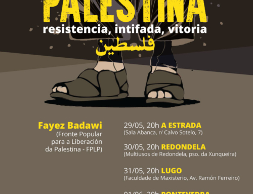 Crónica da roda de palestras con Fayez Badawi sobre a Palestina e o dereito á resistencia popular