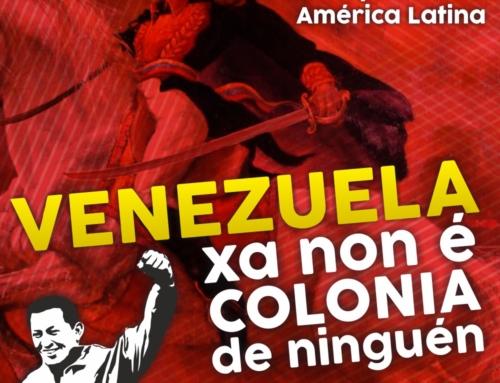 Basta de inxerencias españolas contra Venezuela