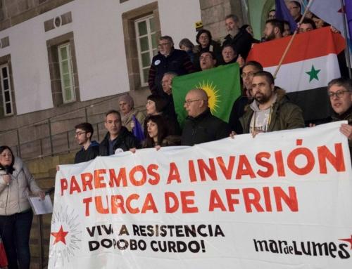Paremos a invasión turca de Afrin!