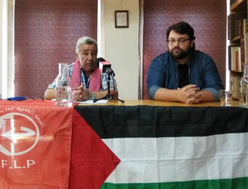 """Fayez Badawi en Galiza: """"Exiximos a aplicación do dereito internacional contra o sionismo de Israel"""""""