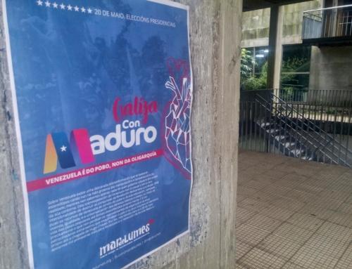 Venezuela é do pobo, non da oligarquía! Comunicado tras a vitoria electoral de Nicolás Maduro nas eleccións presidenciais de 2018