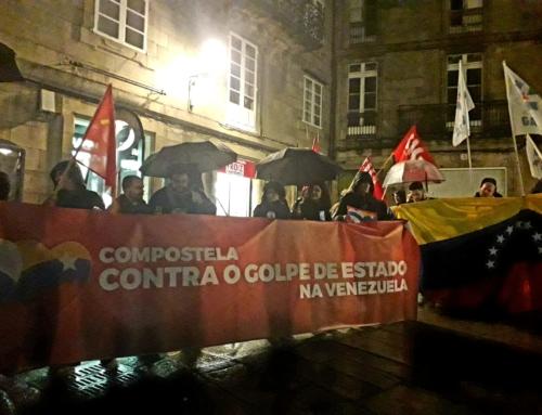 Compostela dixo non ao golpe de Estado na Venezuela