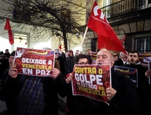 Desde a Coruña, non ao golpe de Estado na Venezuela