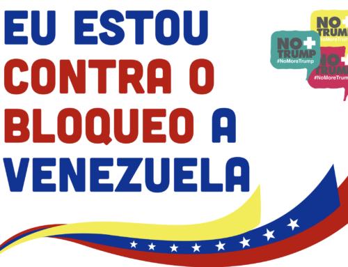 Manifesto galego contra o bloqueo e as sancións a Venezuela