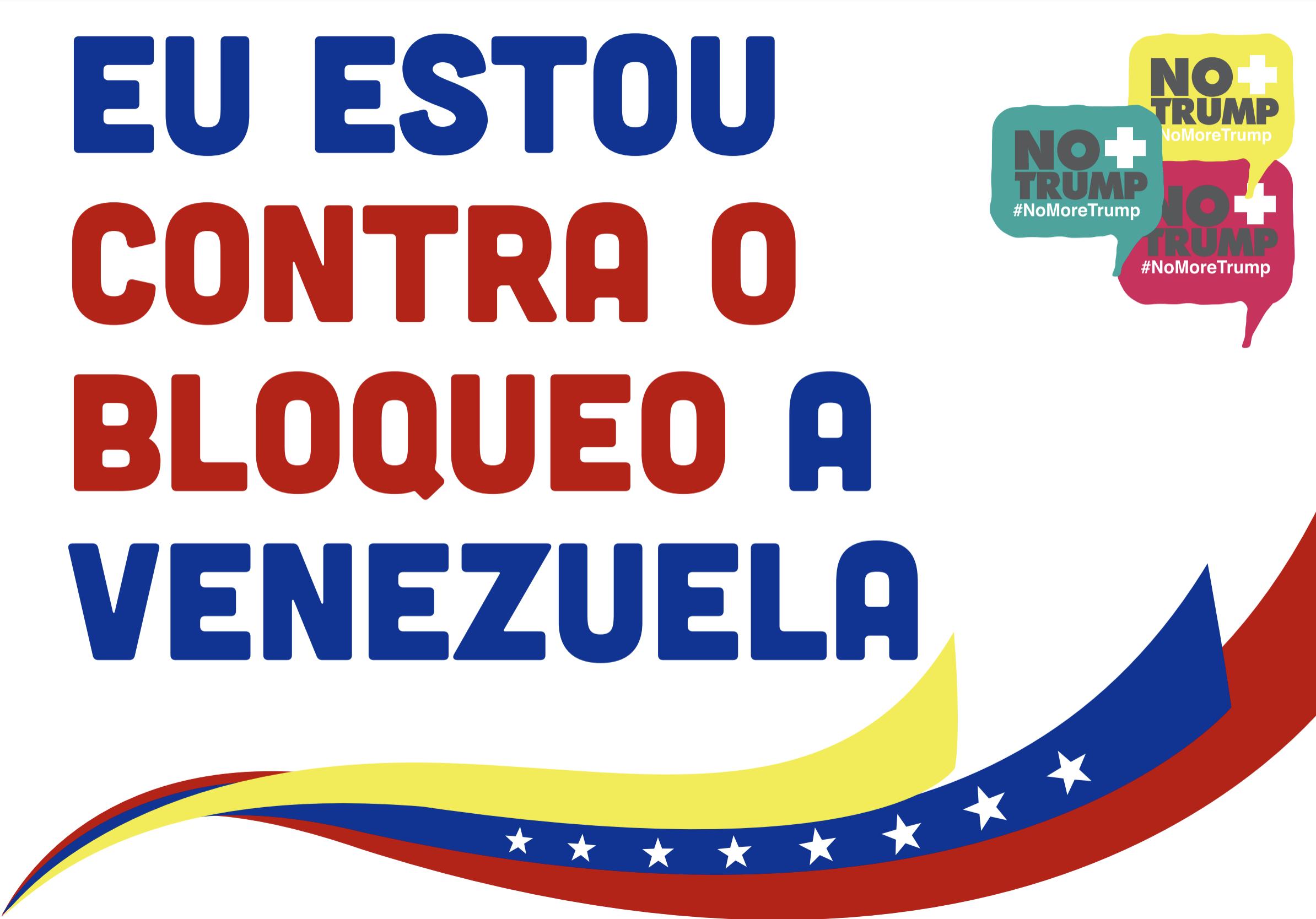 Contra bloqueo Venezuela