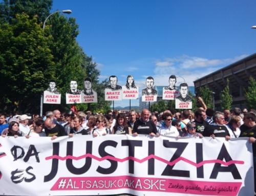 Deixade Altsasu em paz. Deixade Euskal Herria em paz!