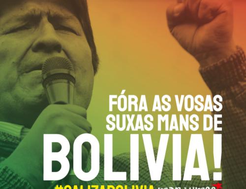 Galiza con Bolivia. Contra o Golpe de Estado