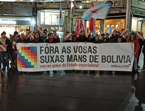 Fóra as vosas suxas mans de Bolivia!